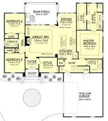 european style house plan 3 beds 2 baths 1870 sq ft plan 430