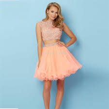 peach dresses short oasis amor fashion