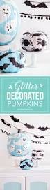 glitter decorated pumpkins seasons cas and pumpkins