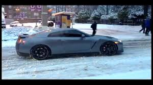 nissan gtr price in canada nissan gtr and auti stuck in the snow thats canada for ya youtube