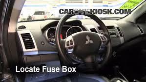 Seeking Fuse Interior Fuse Box Location 2007 2013 Mitsubishi Outlander 2010
