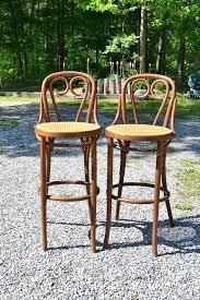 cafe bar stools stools and more vintage bentwood stool set of 2 cafe bar stool cane