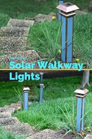 Outdoor Walkway Lighting Ideas by Best 25 Solar Walkway Lights Ideas On Pinterest Solar Pool