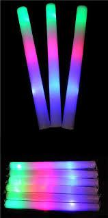 40cm led light toys color led foam glow stick wedding