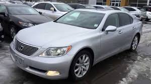 lexus ls black pre owned silver on black 2007 lexus ls 460 4dr sdn rwd walk