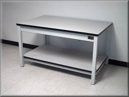 laboratory tables science lab workbenches laboratory table metal frame laminated top