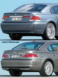 bmw 5 series differences difference between 2005 and 2006 7 series bimmerfest bmw forums
