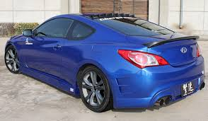 hyundai genesis 2006 chargespeed hyundai genesis coupe rear bumper in 2009 2012