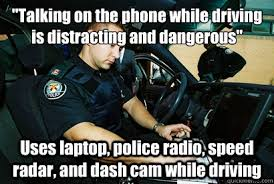 Talking On The Phone Meme - talking on the phone while driving is distracting and dangerous