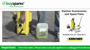 Jeyes Fluid Patio Cleaner by How To Use Detergent In Your Karcher Pressure Washer Youtube