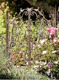 a gate that opens to relaxation enrich the looks of your garden