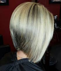 would an inverted bob haircut work for with thin hair blonde highlights and graduated bob haircut my work pinterest