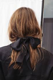 hair ribbon stylish hair bow stylish hair bows chanel ribbon as hair bow