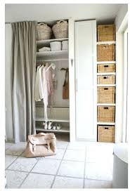 Closet Curtains Instead Of Doors Wardrobes White Wardrobe With Open Shelves Wardrobe Open Shelves