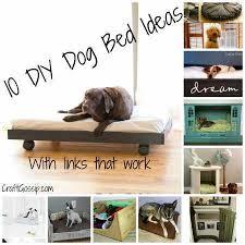 Homemade Dog Beds 10 Diy Dog Beds U2013 Home And Garden