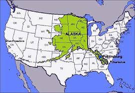 us map w alaska alaska map map of alaska ak where is alaska on the united states