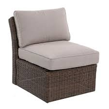 Wicker Patio Furniture Goods For Life Brampton Armless Wicker Patio Chair