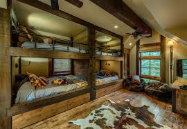 Rustic Bedroom Furniture Ideas - bedroom classic bed style with rustic bunk beds ideas