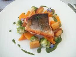 Second course salmon Picture of Les Terrasses de Lyon Lyon
