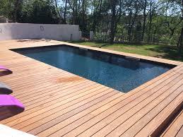 petite piscine enterree constructeur de piscine en bois à hyères