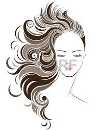 24 502 brown hair stock vector illustration and royalty free brown