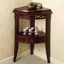 Bathroom Accent Cabinet Table Pleasant Lombardy Corner Storage Accent Cabinet C45 Small