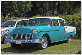 simon cars chevrolet belair 1955 57