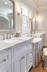 White And Gray Bathroom by Bathroom Cabinet Ideas Bathroom Features Light Gray Walls Adorned