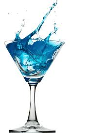 martini cocktail splash turquoise splash pinterest
