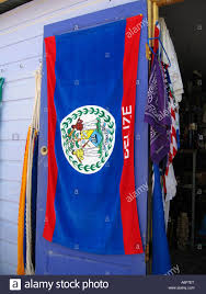 Belize Flag Belize Caye Caulker Beach Towel With Belizean Flag Hang On Store