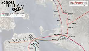 Map Of Bart Stations by Crossing The Bay Again U2014 But Not Necessarily With Bart The