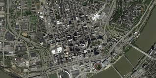 Map Of Cincinnati 60 Years Of Urban Change Midwest