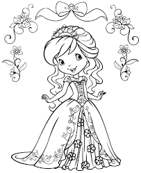 Strawberry Shortcake Halloween Coloring Pages by Strawberry Shortcake Coloring Pages 11022 Bestofcoloring Com