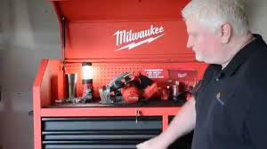 tool chest and cabinet set milwaukee 46 steel storage chest and cabinet youtube