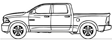 dodge ram truck coloring page stuff dodge
