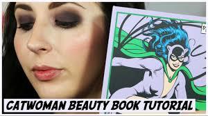 catwoman beauty book makeup tutorial gotham girls makeup