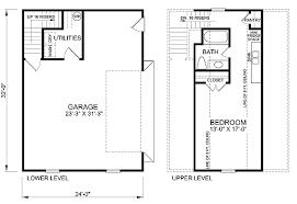 Barn Living Floor Plans Garage Plan 45512 At Familyhomeplans Com