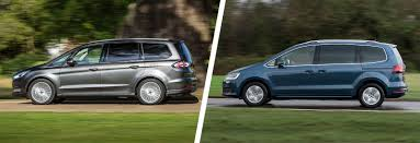 galaxy maserati ford galaxy vs volkswagen sharan mpv comparison carwow