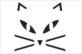 pumpkin cat stencil clipart panda free clipart images