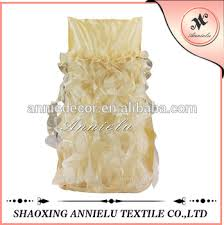 Cheap Chair Covers And Sashes Fancy Cheap Champagne Chair Cover Chair Sashes Buy Cheap Chair