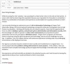 sample position description and cover letter