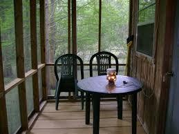 cabin screen porch