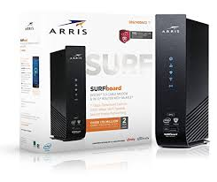 arris surfboard sb6183 lights arris surfboard sb6183 16x4 docsis 3 0 cable modem retail