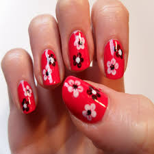 best of pink and red nail designs