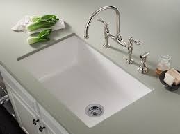 decor undermount white ceramic prep sink for kitchen decoration ideas