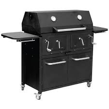 backyard professional charcoal grill rankam big boss twin chamber charcoal grill free shipping today