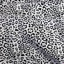 leopard fabric 2018 new 1 meter black amp white leopard print cotton fabric for