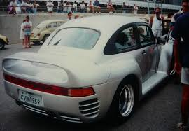 Poor Man U0027s Porsche 959 Tries To Cover Its Vw Bug Roots