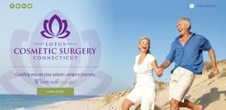 lotus cosmetic surgery new website design westport fairfield