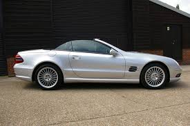 used 2003 mercedes benz sl sl 55 amg kompressor for sale in herts